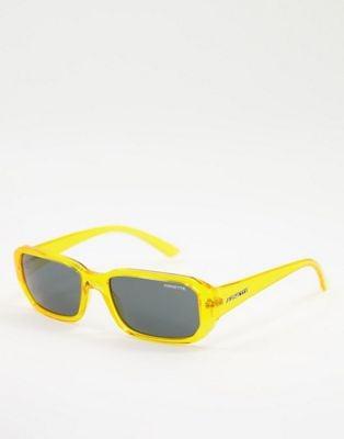 Arnette x Post Malone yellow frame sunglasses   ASOS