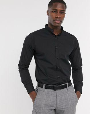 Bolongaro Trevor slim fit grandad shirt | ASOS