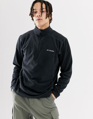 Columbia Klamath Range II Half Zip Fleece in Black