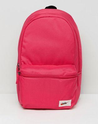 Nike Heritage Backpack In Pink BA4990-666