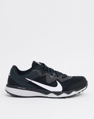 Nike Running Juniper Trail sneakers in black   ASOS