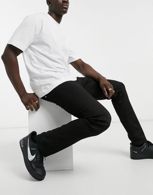 Replay Grover straight fit jeans in black | ASOS