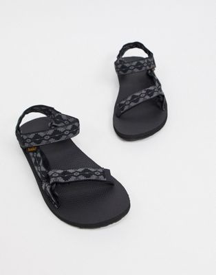 Teva orginal universal sandals in grey | ASOS