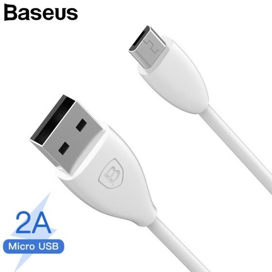 Shop Baseus 2A Micro USB Cable Charging and data transfer Cable for Samsung Note 4 Xiaomi Red MiHua Wei Qi Charging 1M Online from Best Mobile Phone Cables on JD.com Global Site - Joybuy.com