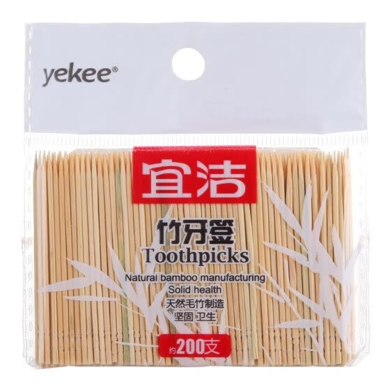 Shop Yekee Bamboo Toothpicks 200-PCS Online from Best Tableware & Drinkware on JD.com Global Site - Joybuy.com
